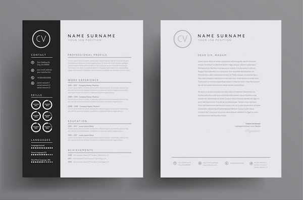 How To Create A Brilliant, Creative Résumé That Distinguishes You From Peers - DesignTAXI.com