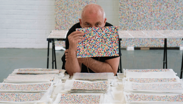 Damien Hirst Rolls Out 10,000 NFTs Each With A Choice Of Digital Or Paper -  DesignTAXI.com