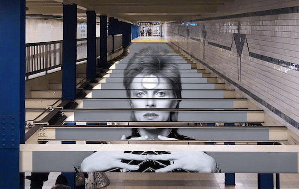 NYC Subway x Spotify Release Limited Edition 'David Bowie