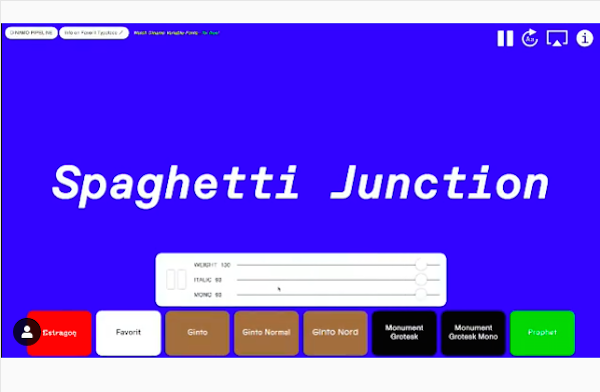Design Agency Creates 'Netflix For Variable Fonts' That You Can Sit Back Enjoy - DesignTAXI.com