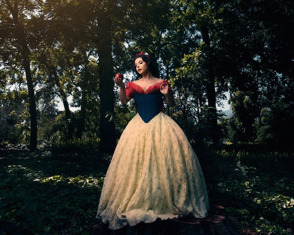 Photo Shoot Imagines What Disney Princesses Would Look Like As Queen