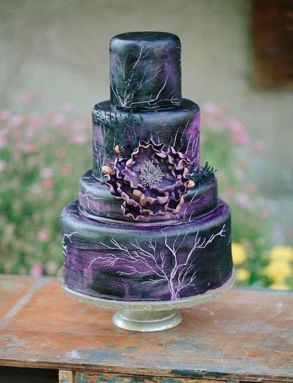 Gorgeous Disney Themed Wedding Cakes For That Happily Ever After