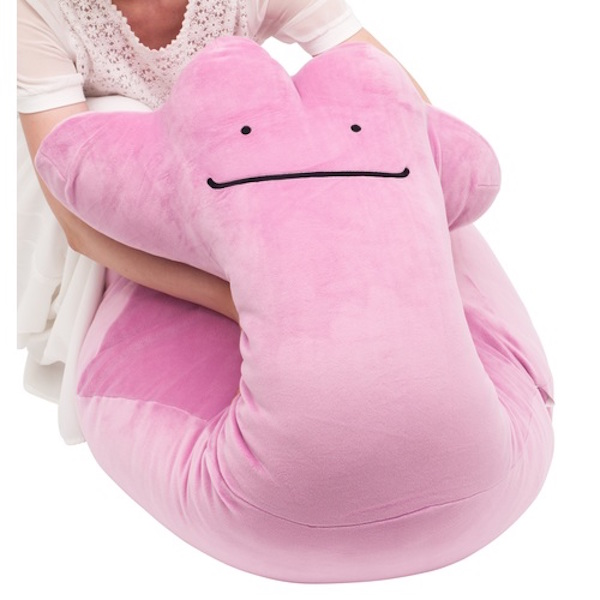 Mammoth Size Ditto Pok 233 Mon Pillow Is Perfect Companion