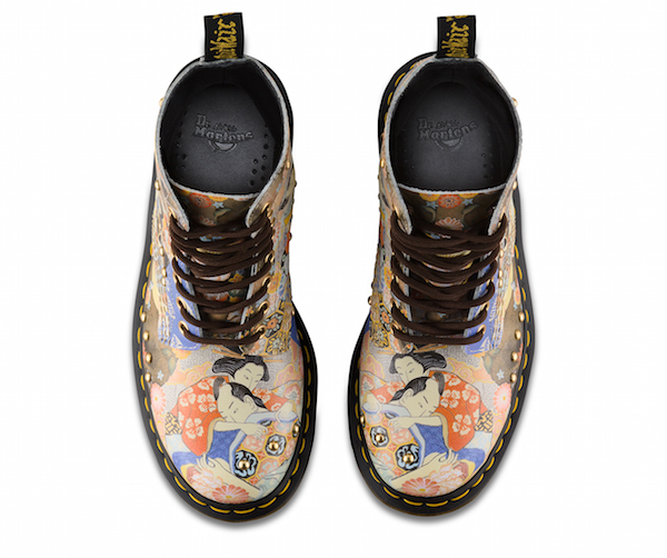Dr. Martens' 'Eastern Art' Series Is For Lovers Of Traditional Japanese Artworks