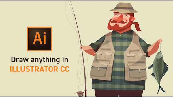 watch  adobe design master shows you how to draw anything with illustrator cc