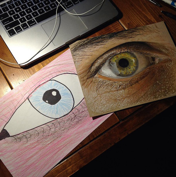 More Before And After Drawings That Show Remarkable Progress In ...