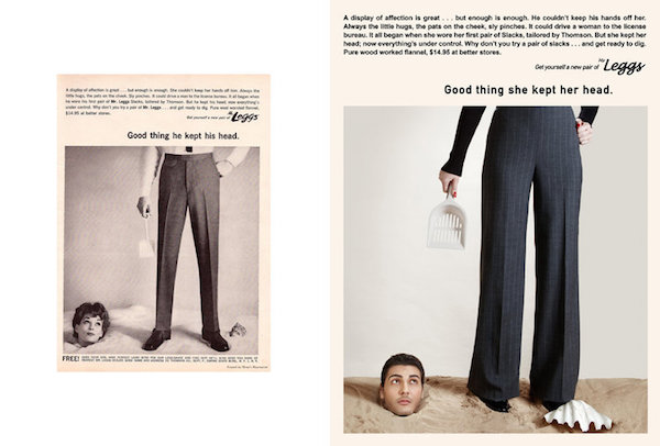 Outrageous Real-Life Sexist Ads Get Recreated With Gender Roles Reversed