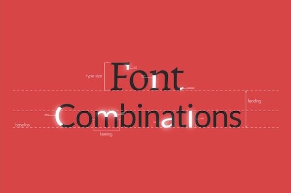 Watch: How To Pair Typefaces So Your Texts Don't Look Like Ransom Letters - DesignTAXI.com