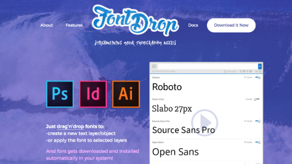 Productivity Freebie Lets You Drag-And-Drop Fonts Swiftly Into Your