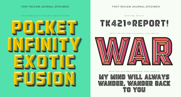 Nifty Collection Of Typeface Reviews Made By Designers, For Designers