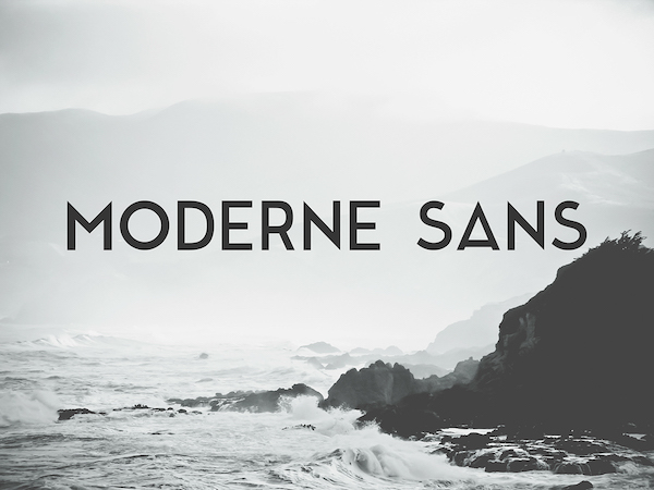 Free Sans Serif Typefaces That Could Make Your Projects Look More Sophisticated - DesignTAXI.com