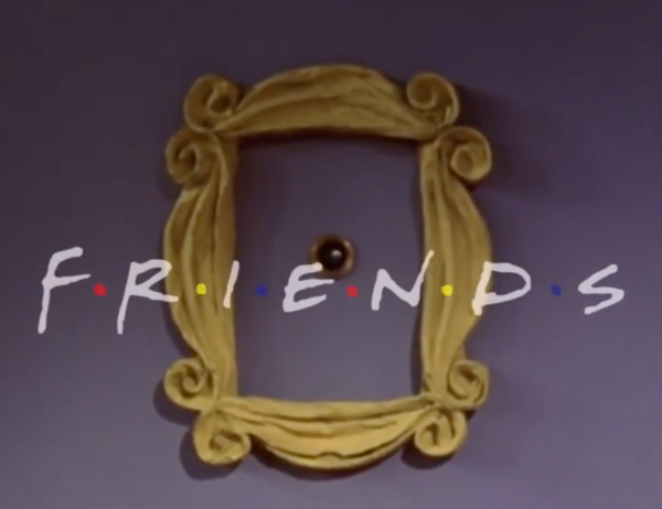 How The 'Friends' Logo Design Became The One With All The Love
