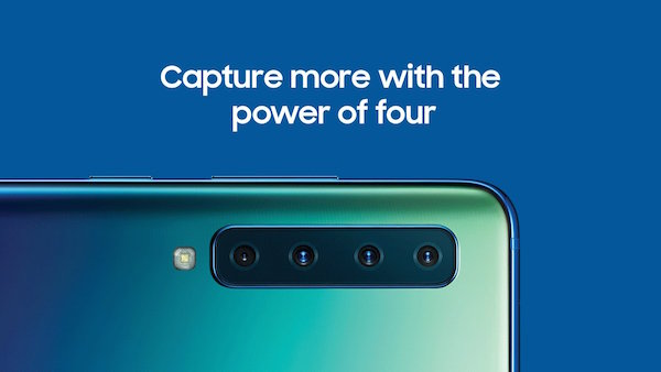 Samsung Unveils The World's First Smartphone With Four Rear Cameras