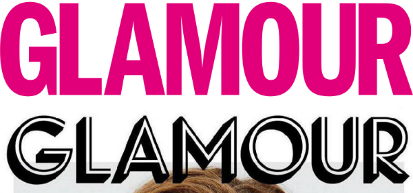 glamour magazine unveils brand new look hopes to pop in the