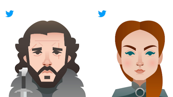 Twitter Reveals 20 Emoji Character Designs For 'Game Of Thrones
