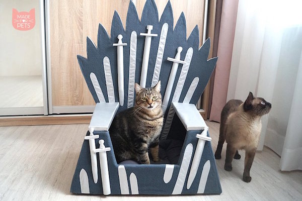 Handmade Game Of Thrones Pet Beds Show Who Really Rules