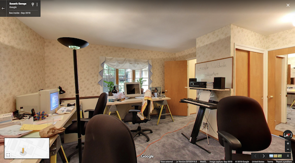 Google Painstakingly Recreates Original 1998 Garage Office For 20th