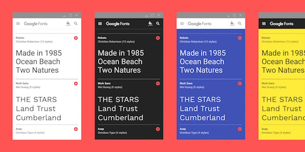Google Releases Font Guides So You Won't Ruin Your Typography Game - DesignTAXI.com