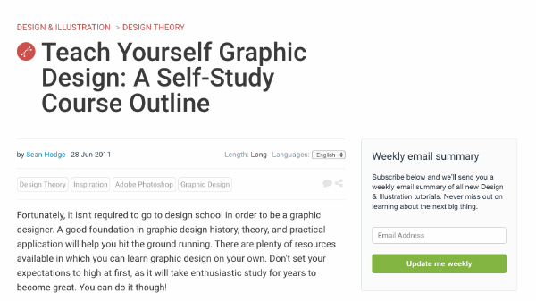 Incredibly helpful graphic design courses online that happen to be teach yourself graphic design a self study course outline solutioingenieria Images