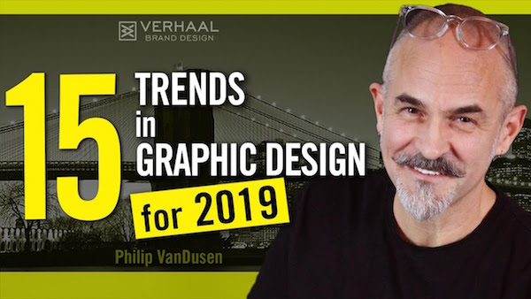 Watch: 15 Graphic Design Trends For 2019