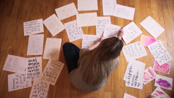 Watch: Story Of The Graphic Designer Who Made US$1M Selling Fonts Online - DesignTAXI.com
