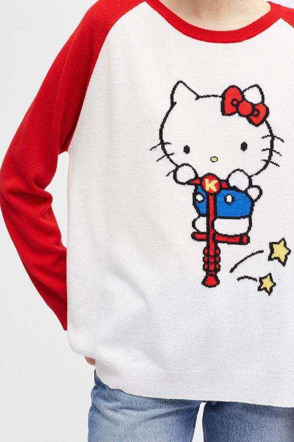 Hello Kitty Goes Luxe With Cashmere And Bold Vibrant