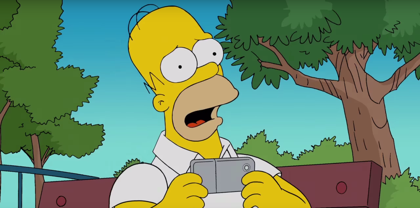 Watch The Simpsons Shows Perils Of Hit Mobile Game