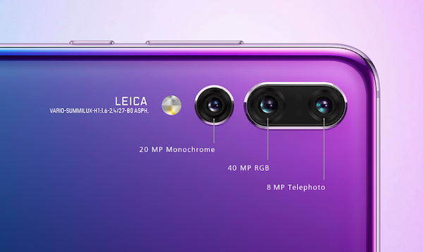 Huawei's 'P20 Pro' With Triple Leica-Made Cameras Crushes
