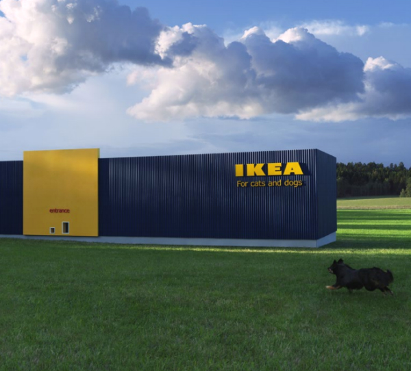 Ikea launches pet collection so cats and dogs can feel for Lurvig ikea