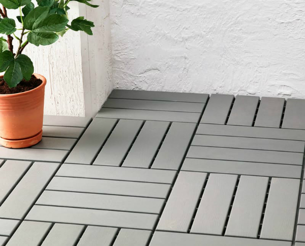Must know ikea products to use if your apartment is a for Ikea floor tile