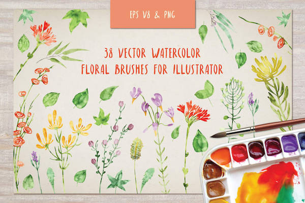 Free Adobe Illustrator Brush Packs Bring Texture To Your Projects