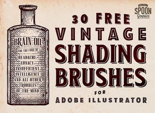 Free Adobe Illustrator Brush Packs Bring Texture To Your Projects - DesignTAXI.com