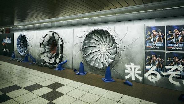 Powerful Punches Of 'Goku', 'Luffy', And 'Naruto' Appear In Tokyo Metro Station