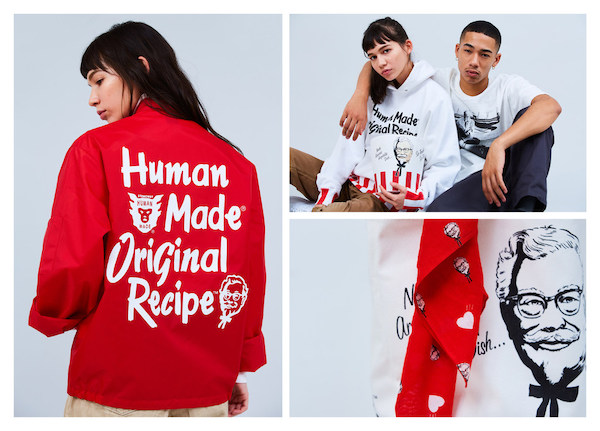 KFC Unveils High-End Streetwear Collection With Japanese Designer