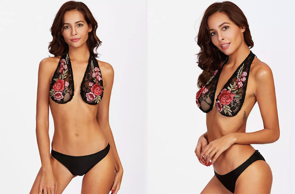 f7c992c523 Sexy Open-Back Floral Bralette Puts The Outrageous  Ta-Ta Towel  On ...