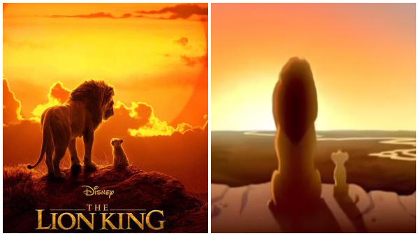 disney unveils  u2018lion king u2019 film poster that pays homage to a well-loved scene
