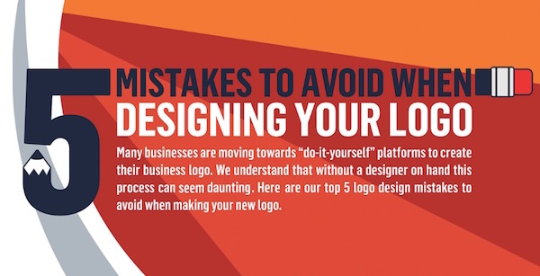 Infographic five mistakes to avoid when designing a logo free logo services has created an infographic that might be helpful for creatives who are still relatively new to logo design solutioingenieria Gallery