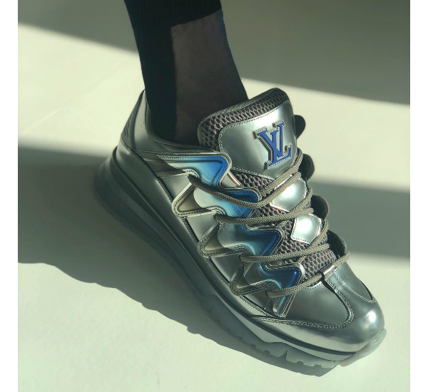 86d2b2ad11f5 Louis Vuitton Embraces The Bulky  Dad Shoe  Trend In Latest Virgil ...