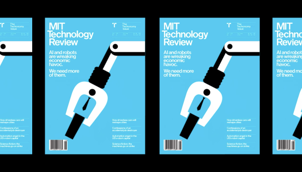 MIT Technology Review Magazine Receives Modern Makeover From Pentagram Design - DesignTAXI.com