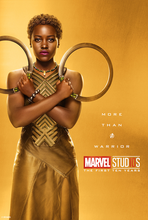 Marvel Studios Celebrates 10th Anniversary With Collection Of Gold Posters