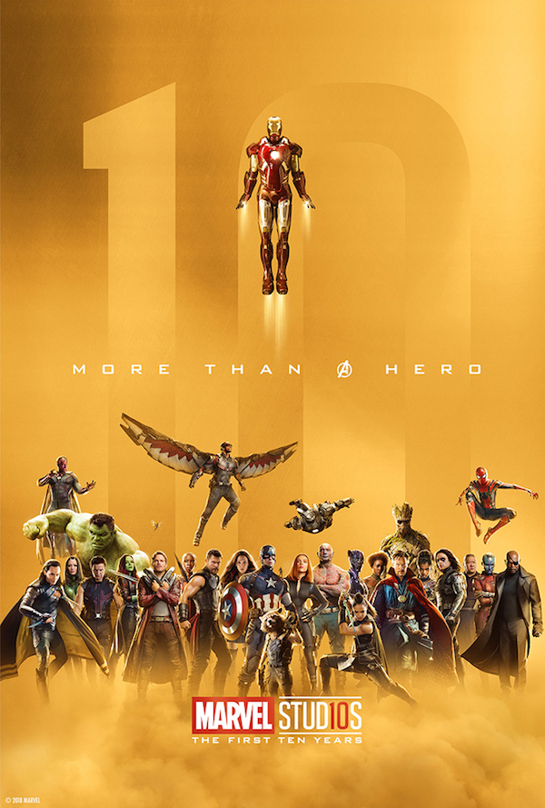 Marvel Studios Celebrates 10th Anniversary With Collection