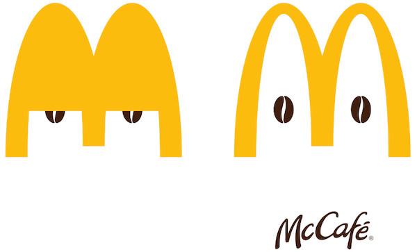 Mcdonald S Perks Up Its Golden Arches Logo For Playful 2020 Mccafe