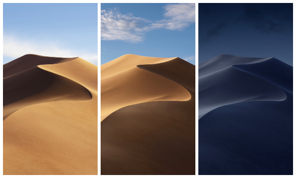Mac Geeks Can Now Use Mojave S Light Dark Mode Wallpapers