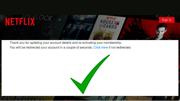 how to change credit card info on netflix