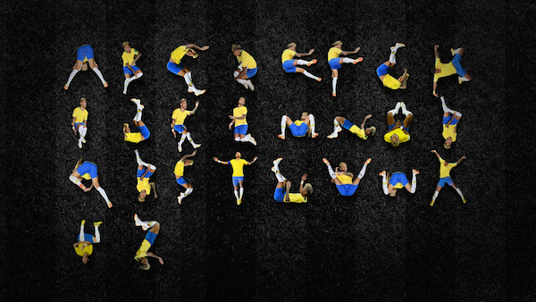 Neymar's Epic World Cup Fall Hilariously Rolls Into A Free-To-Download Typeface