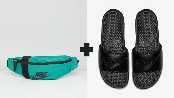 1c95f8b2d Nike s Absurd  Fanny Pack  Slides Will Have You Zipping Up On Losing ...