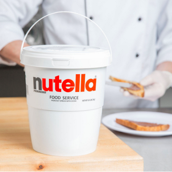 nutella now retails in huge 3kg tubs that s a chocolate hazelnut dream come true. Black Bedroom Furniture Sets. Home Design Ideas