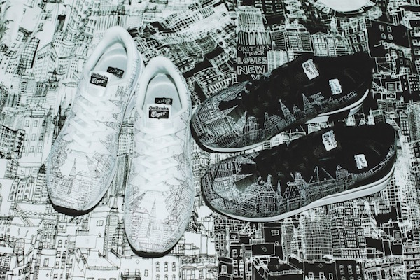 new product 82086 7e6ff Onitsuka Tiger Captures City Of New York On Its Apparels For ...