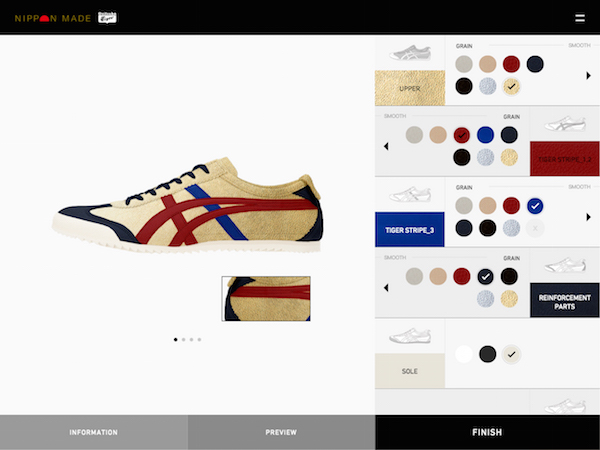 uk availability 6adc6 823d0 Onitsuka Tiger Now Lets You Customize Your Shoes For Added ...