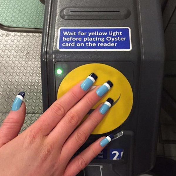 Student\'s Unique Acrylic Nails Cleverly Doubles As Public ...